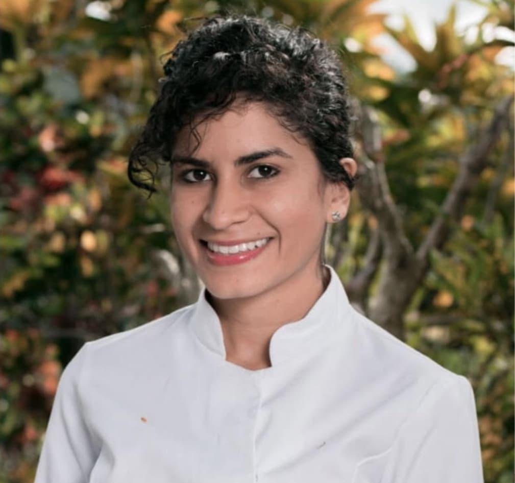 Chef Lina Castillo creadora de Poliniza